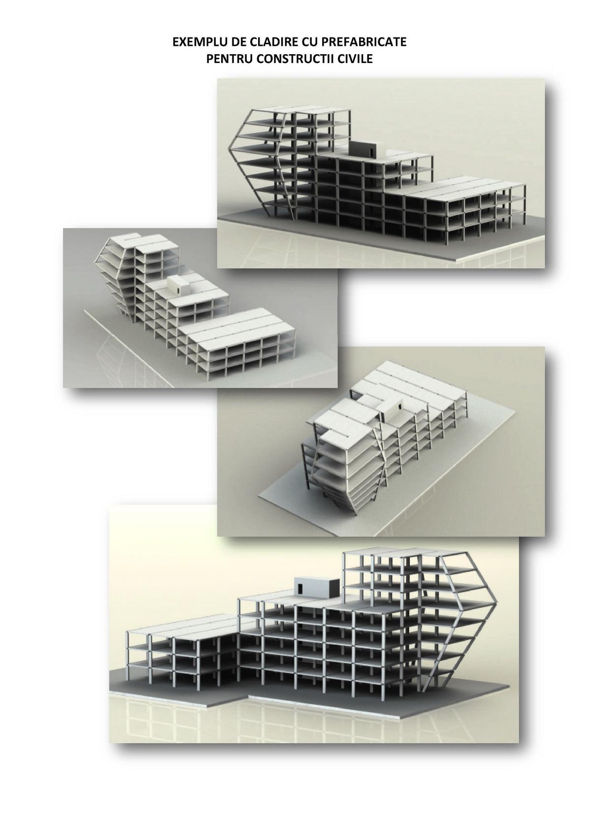 Esempio di edificio prefabbricato per costruzioni civili